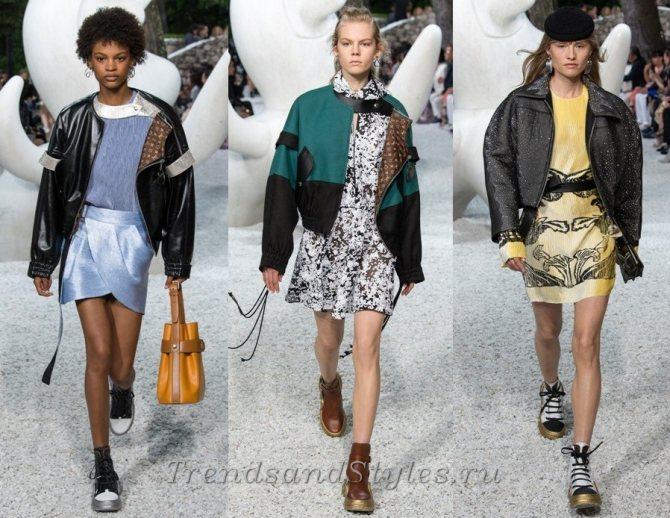 женские куртки блузон весна-лето 2019 фото новинки модные образы для женщин тренды