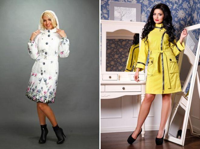 женские модные плащи 2019